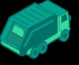 Compost Truck Icon